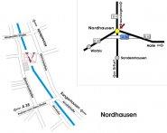 Anfahrtskizze Nordhausen