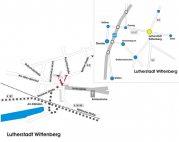 Anfahrtskizze Wittenberg