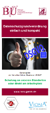 Deckblatt Flyer DSGVO